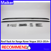 auto parts Roof Rack For Land Rover Range Rover Vogue 13+ roof bar roof carrier car accessories from Maiker