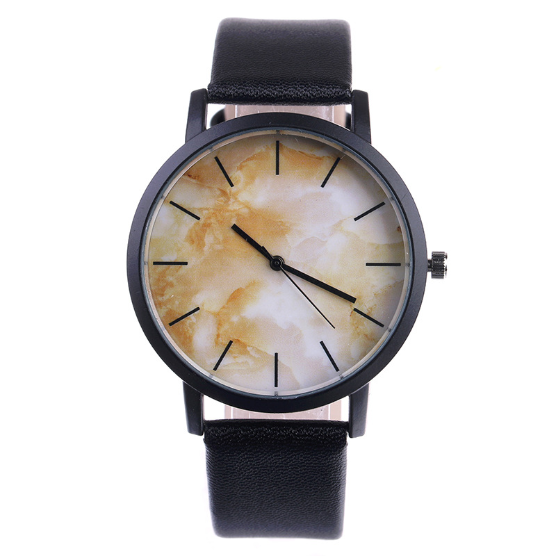 New Design Cool Marble Face Watch Luxury Mens Watch