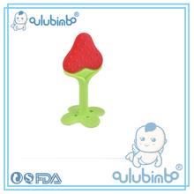 stawberry baby supplier nice price funny baby teether funny baby teether