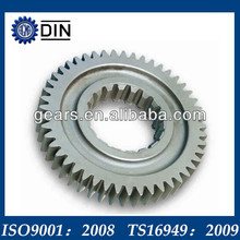 Perfect large steel spur gears with durable service life