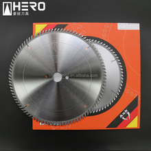 tct carbide wood cutting sliding table saw blade for laminated MDF/ chipboard