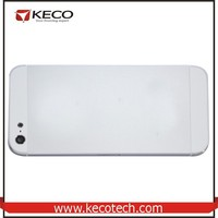 Hot sell for iPhone 5 Back Glass Housing Battery Cover with middle frame white / Black