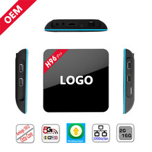 H96 PRO android 6.0 smart tv box Amlogic S912 Octa core 2G 16G full hd 1080p smart good media player with BT4.0 Wifi