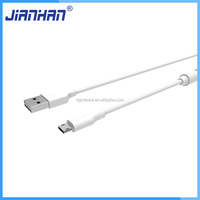 High quality aluminum casings TPE micro usb cable