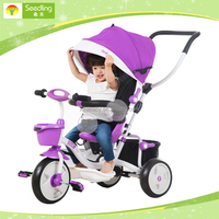 buy tricycle tricycle for children small purple infant 3 in 1 tricycle toddler