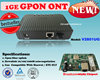 1GE GPON ONU/GPON ONT FTTH Modem Fiber Network Device in Hot Sale!!!