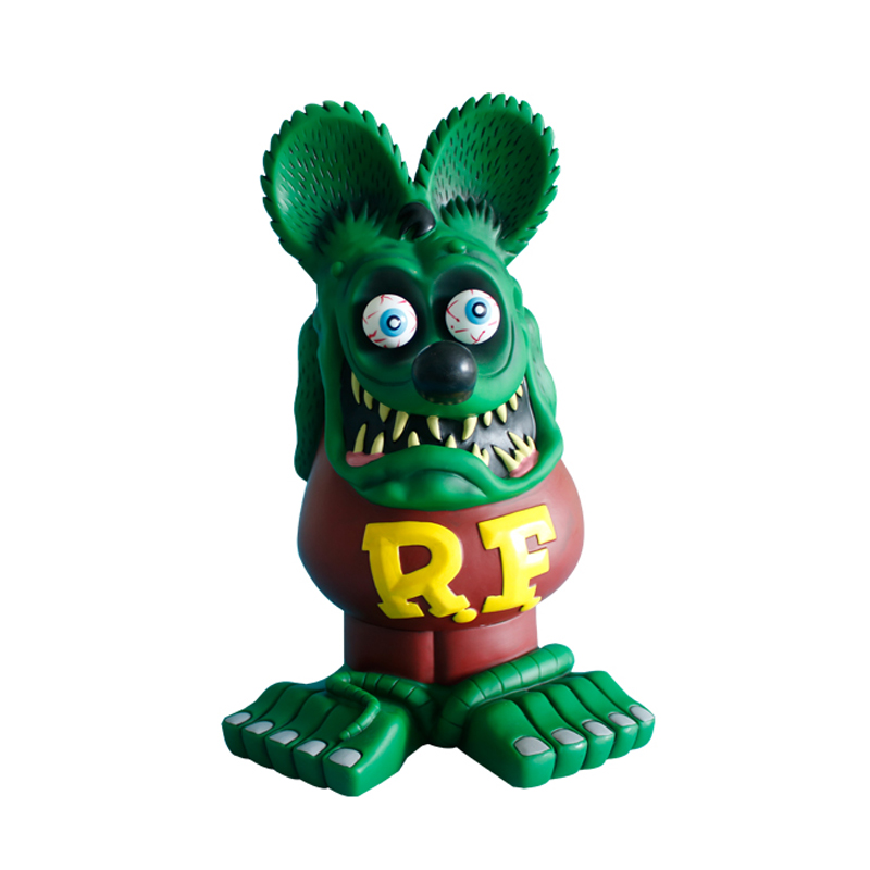 Cartoon animal Piggy Rat fink PVC figures toys cute <strong>model</strong>