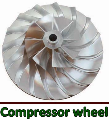 marine compressor wheel/yangdong diesel engine parts