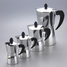 26 years Factory whole sale moka express 3 cup espresso coffee maker Moca pot