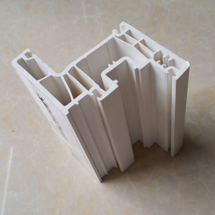 70mm Series Inswing Sash Vinyl Window Extrusions Laminated PVC Profile China Brand PVC Profile Manufacturers