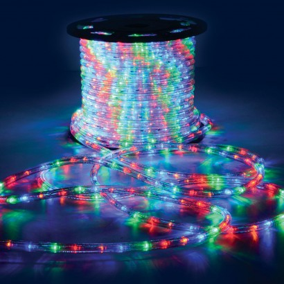 100m/roll waterproof led light rope for indoor/outdoor decoration use