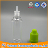 15ml PET plastic e liquid empty bottle big bottle mouth with middle childproof transparent cap