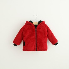 ZH2144A Factory directly sale fashion kids winter fur coats
