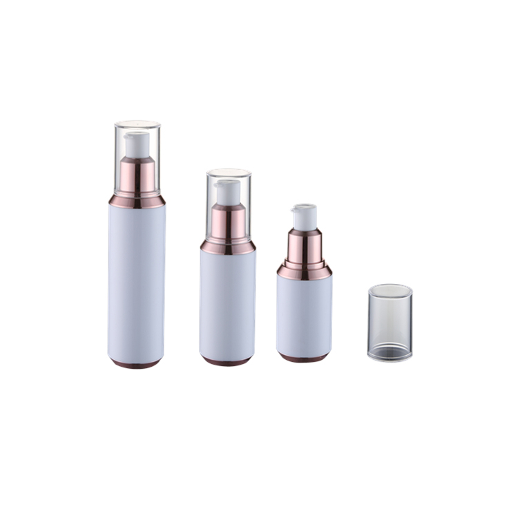 2017 New design for cosmetic packagings 30ml 50ml 80ml airless pump bottle