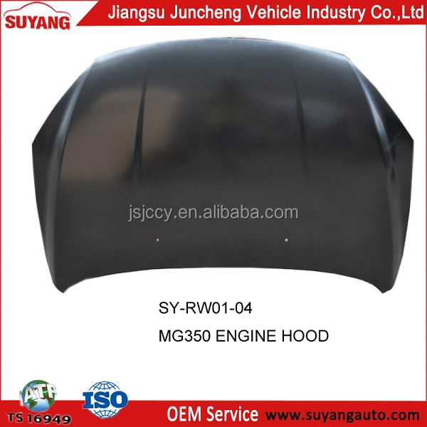 Car Spare Parts Engine Hood for MG350