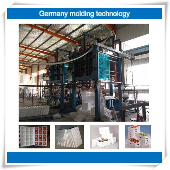 EPS expanded polystyrene Foam Box Shape Moulding Making Machine For Sale
