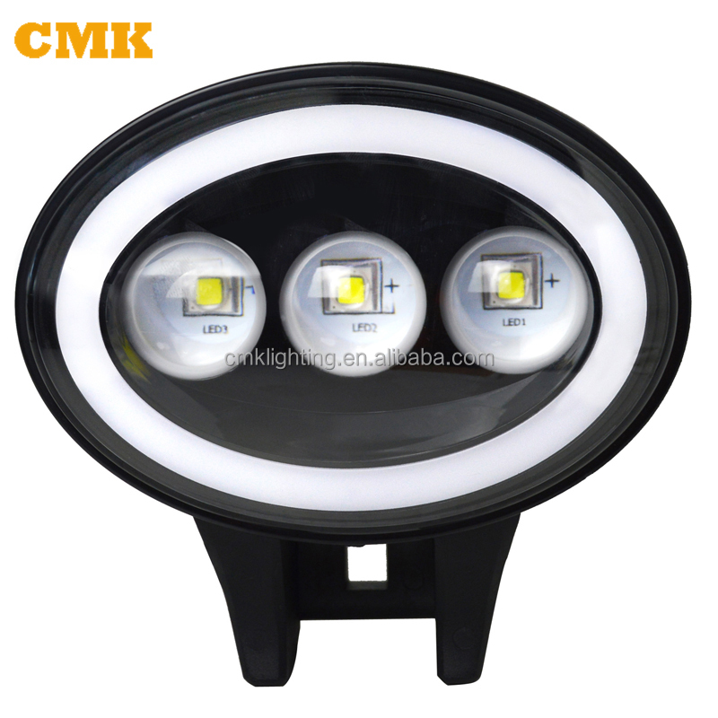 12 Volt Off Road IP68 Front Rear LED Spot Light for Jeep Wrangler JK CJ Harley Davidson Truck