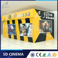 Hot Sale Canton Fair Mini 5D Cinema 2 Seaters, Lover Seats pneumatic electric system