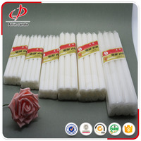 White wax cheap candles to Africa market