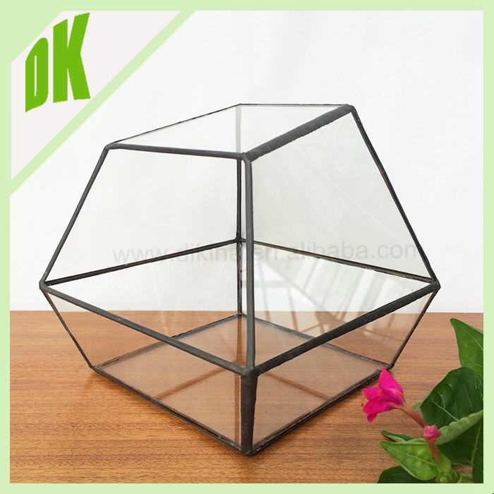 Geometric planter for out/indoor gardening// ball candle holder air plant// wedding centerpiece decor hanging glass terrarium