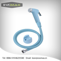 portable hand held muslim shower shattaf with flexible PVC hose