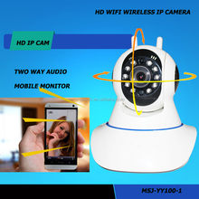 720 real time recording original Anjia Support SD Card up to 64GB HD recorder wireless wifi hd 360 degree view poe ip camera