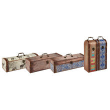 China supplier single bottle empty wooden wine boxes for sale