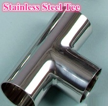 Different Types Of Stainless Steel Seamless Pipe Tee Fitting