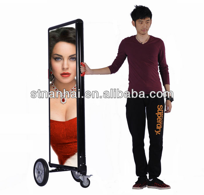 J2B-1020 2015 new invention mobile billboards advertising inflatable advertising balloon led display hub08 acrylic makeup
