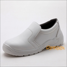 Feet protective safety shoe en 345 with steel toe, 2012 wholesale leather chef shoes kitchen shoes, safety step shoes SA-6121