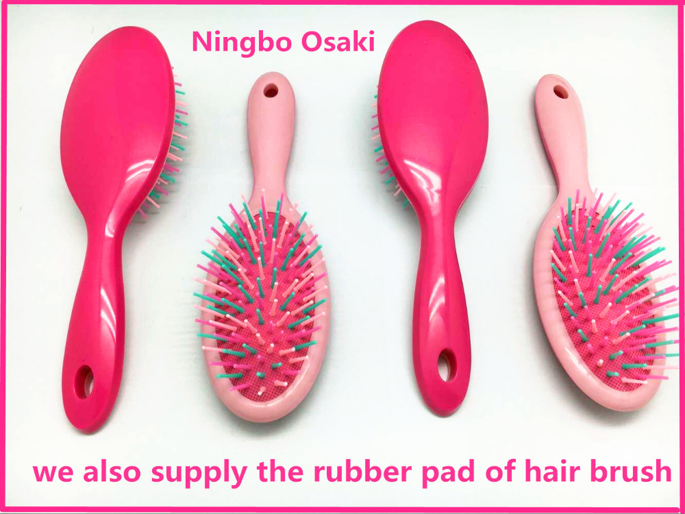 OSAKI manufactur best sell high quality plastic paddle hair brush