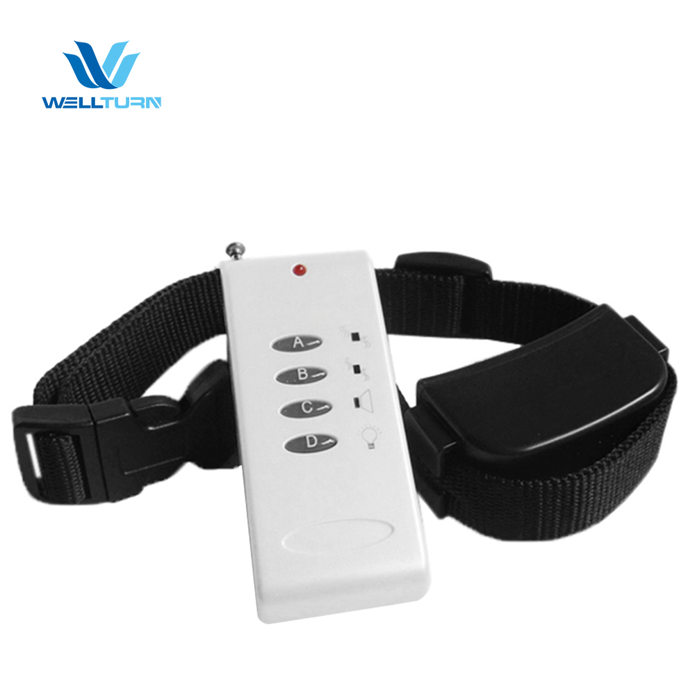 WT714 Bark Prevention Collar Control No Harm Vibration Shock Anti-Bark Trainer Dog Collars