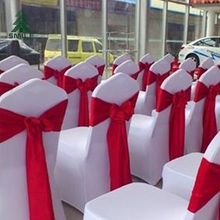 Factory wholesale banquet chair covers wedding decoration centerpieces