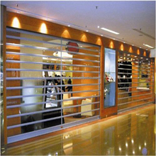 polycarbonate transparent roller shutter door slat