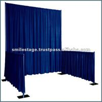 RK Portable Aluminum Pipe And Drape With Curtains Backdrops