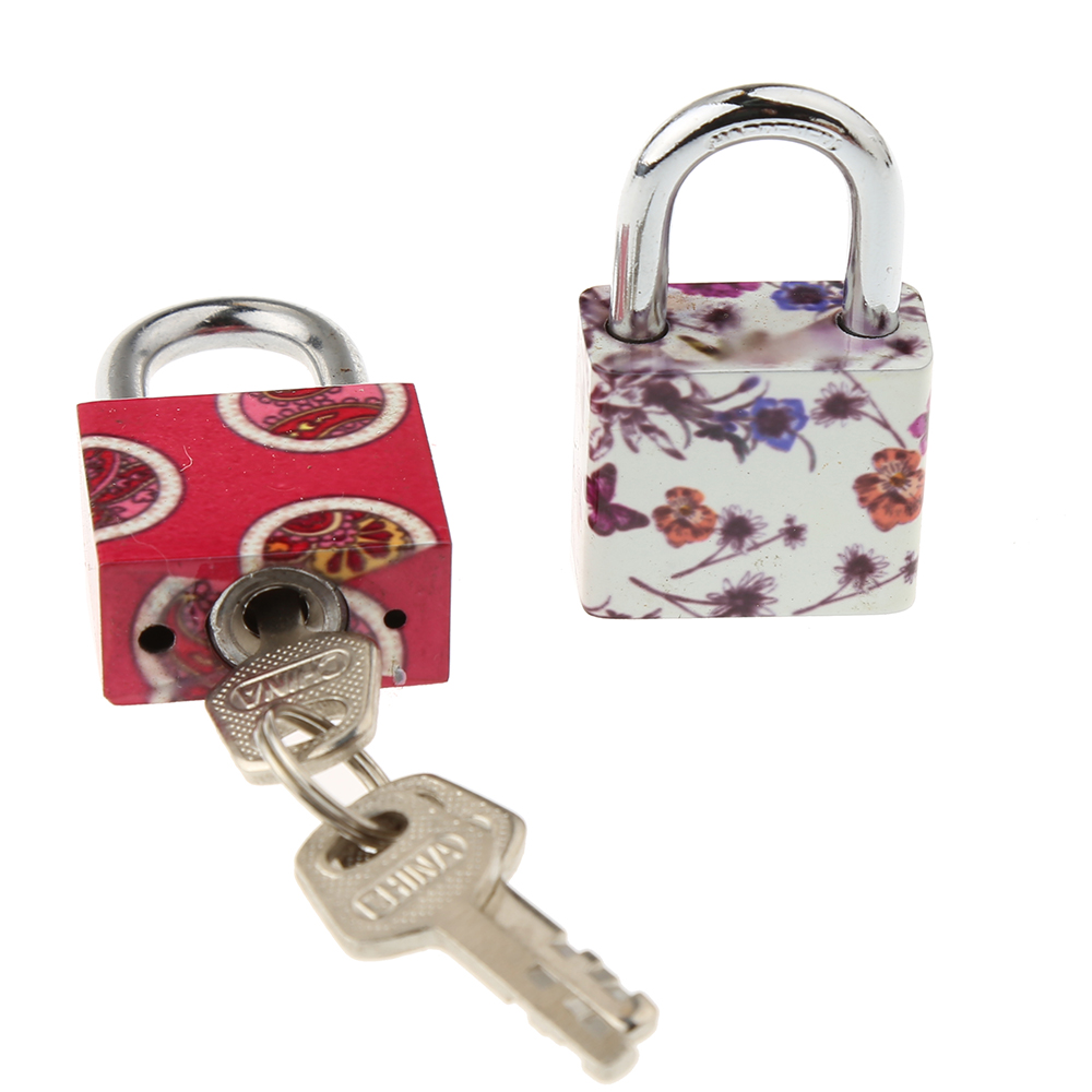 CH-HB30 Iron padlock with colorful printing