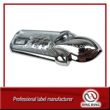 OEM Logo Brand Type And Plastic Injection Type Promotion Custom Chrome Decorative 3D Emblem Car