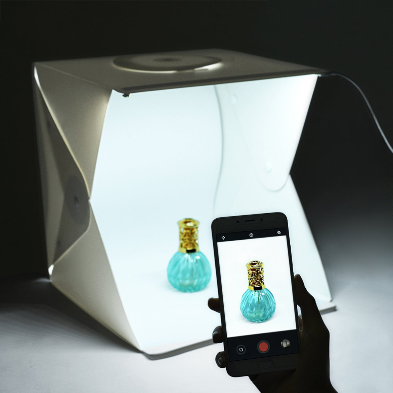 BrightBox Portable Mini Photo Studio With LED Light The Best Small Folding Product Light Kit Light Box Tent