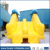 Attractive design inflatable dolphin water slide for water park