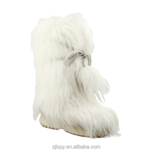2015 7111 Women winter snow boots with white fur