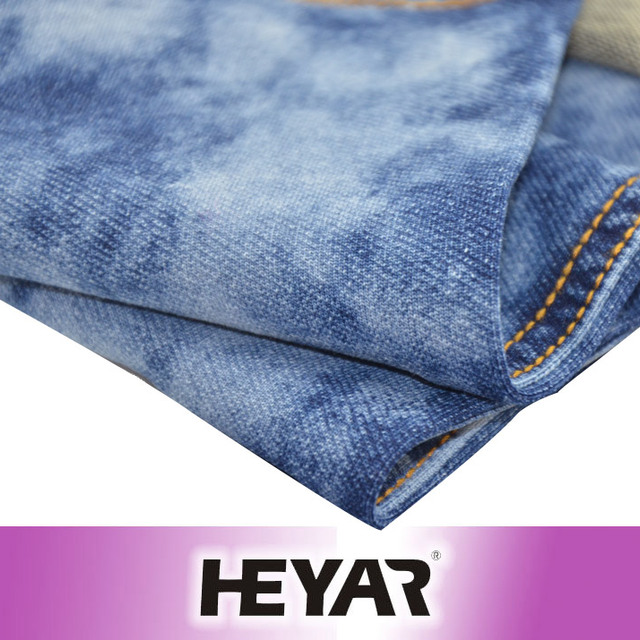China Manufacturer Wholesale Knit Denim!!! Fabric Knit Fabric Coarse Heavy look