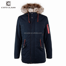2919 Latest Design Fashion Outdoor Casual Men Thicken Outwear Overcoat Hot Sale Washed Warm Winter Cotton-Padded Jackets
