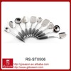 High grade home cooking tools best stainless steel 10pcs kitchen utensil set