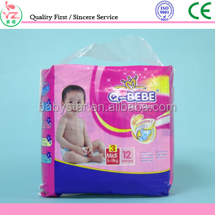Smart Baby Products sleepy Baby Diapers With New Design made in china