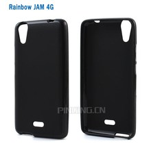 Matte pudding Soft Gel TPU Back Cover Case For Wiko Rainbow Jam 4G, for Wiko Rainbow Jam 4G tpu mobile phone cover