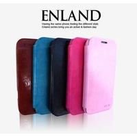 KLX England Series Retro Flip Leather Case for Samsung Galaxy S4