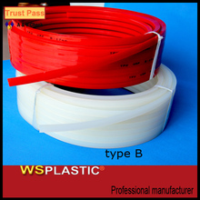 High quality transparent color rubber v-belt
