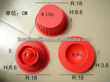 Non-stick, Flexible 3pcs Big Top Cupcake Silicone Bake Set Birthday Cupcake