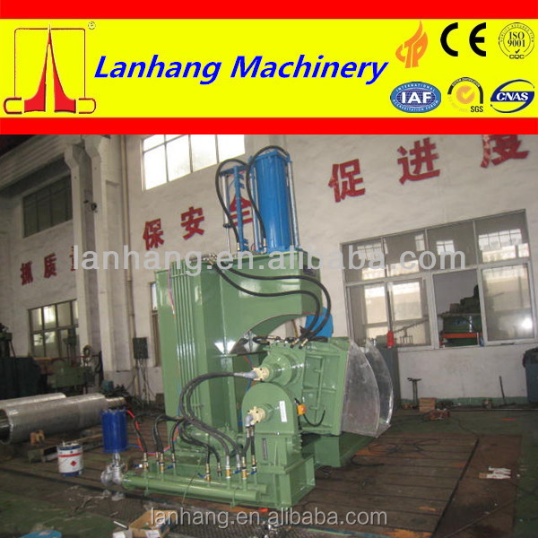 rubber kneader machine with blending cylinder