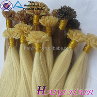 Cheap Price Factory Direct In Stock 5A Pre Bonded European 20Inch Crochet Hair Extension